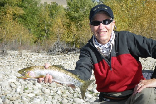 Welcome to Ms. Guided Flyfishing!